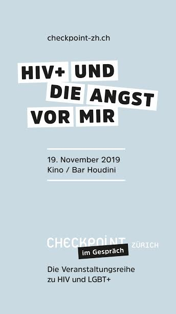 Vortrag HIV und die Angst vormir