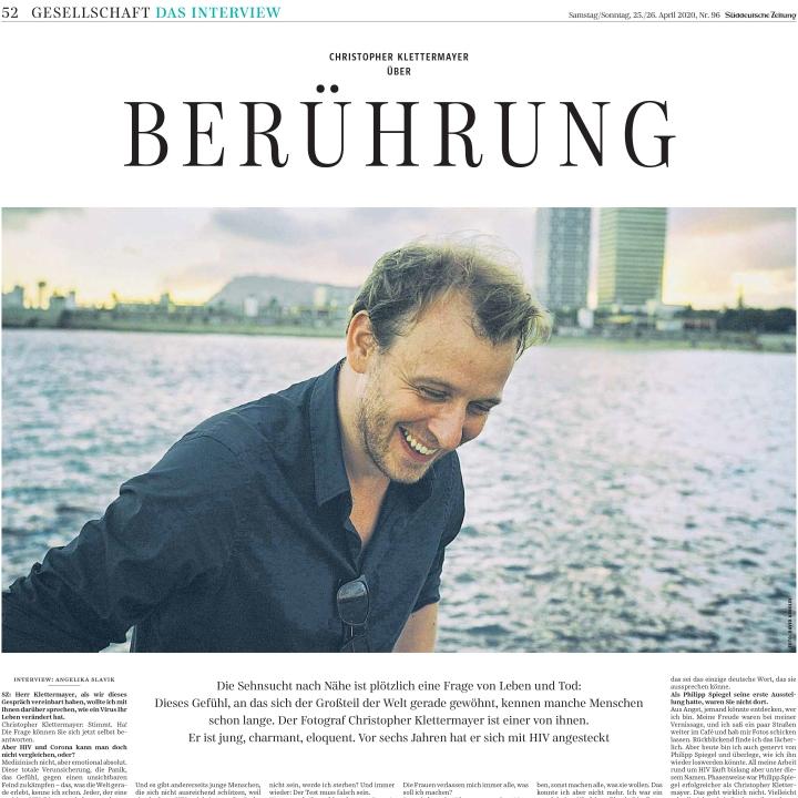 Interview Süddeutsche Zeitung